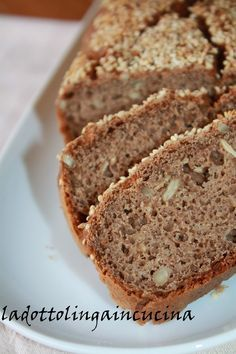 La dottolinga in cucina: Pane con farina di ceci