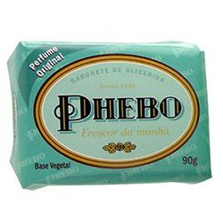Phebo Body Soap - Sabonete Phebo Frescor Da Manhã by Phebo. $1.99. Fragrance: Fresh and citric with hints of flowers.. Cleans and moisturizes skin.. Recommended for all skin types and daily use.. Fresh and citric fragrance with hints of flowers. Freshness of the Morning is part of the line of Phebo body soaps, which are famous for its tradition and quality. Innovative, Phebo Freshness of the Morning exhales an exuberant scent and cleans without drying out the skin.