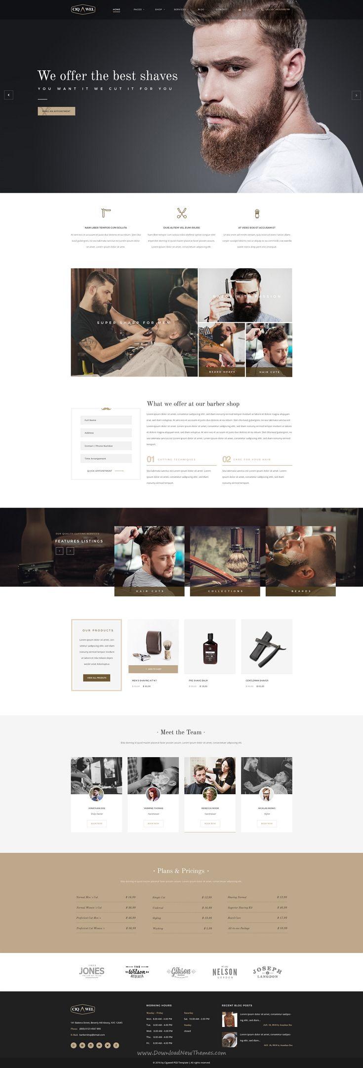 17 best ideas about Salon Website on Pinterest | Beauty salon ...