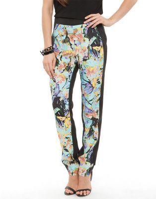 SUBOO 'Delphinium' Printed Pants