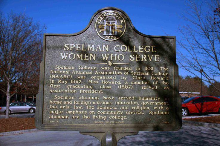 Spelman College  marker, Atlanta, GA