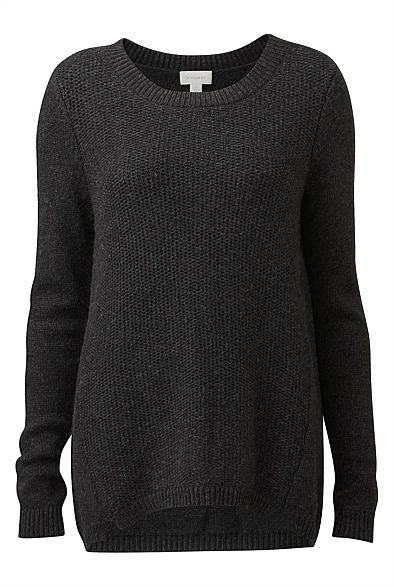 Textured Front Knit