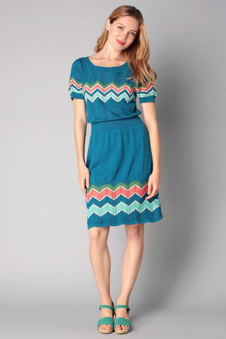 Knitwear dress - 6170284 blazin - Blue / Navy