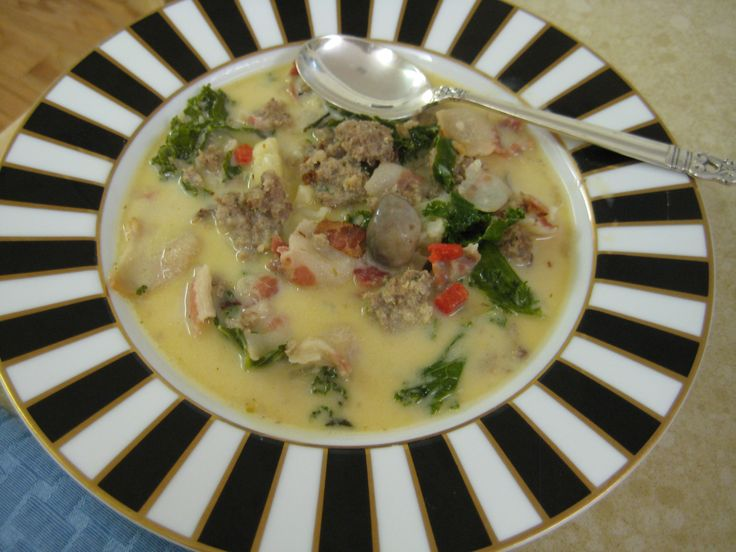 This Soup Is Similar To Zuppa Toscana At Olive Garden Restaurants, But Mine  Has Diced