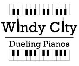 Windy City Dueling Pianos in Chicago and Suburbs, Illinois and Midwest performs fun wedding dueling pianos and dueling pianos for any event and venue.