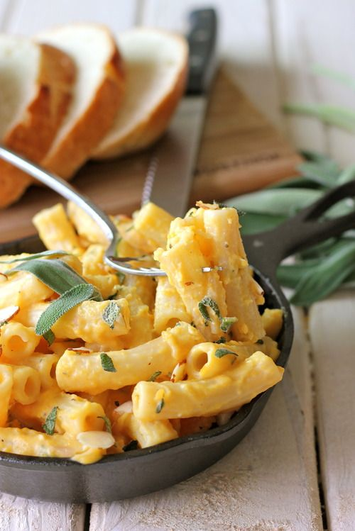 butternut squash pasta w. Sage. I like it in chunks when it's tossed in with some pasta but after a couple of bites, I'm completely over it. But the funny thing about it is that I...