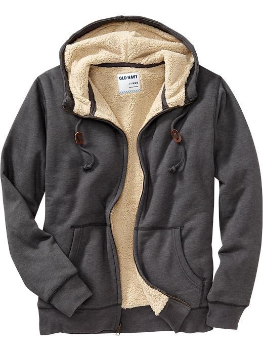 Boys sherpa lined hoodies