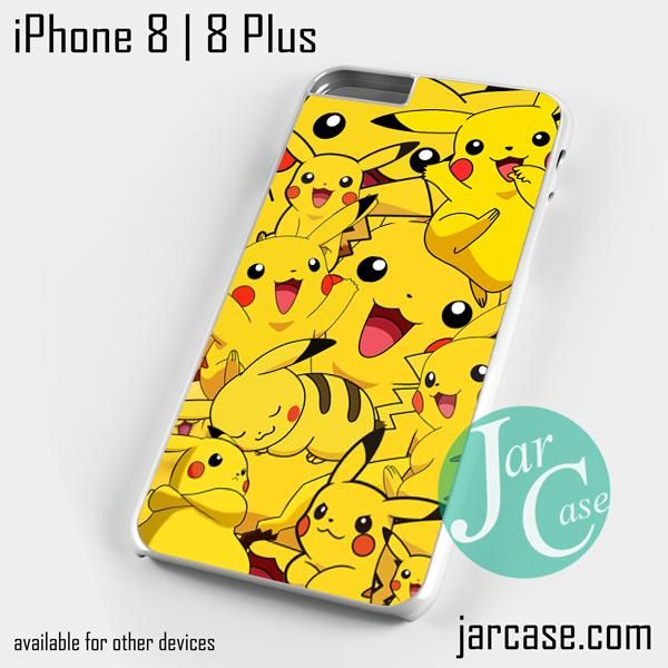 pikachu collage Phone case for iPhone 8 | 8 Plus