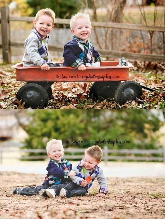 Get things rolling: | 34 Beautiful And Creative Photography Ideas For Twins