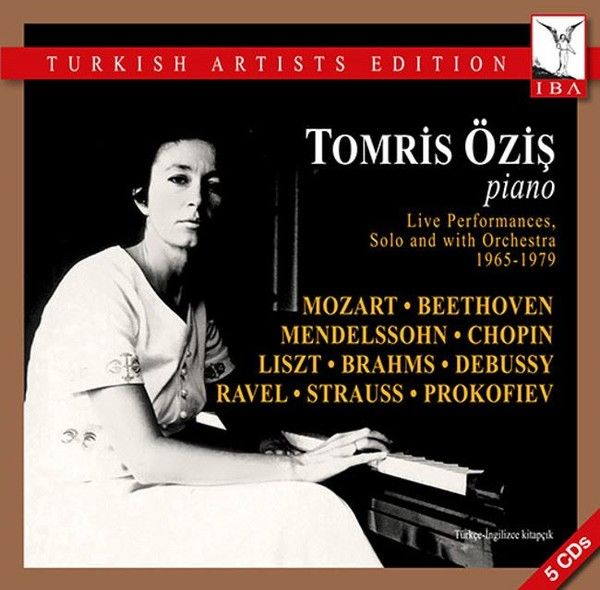 """piyano üstadımız idil biret, çok önemli bir adım atmış ve """"türk sanatçılar baskısı"""" etiketiyle tomris erişin 1965-1979 yılları arasındaki canlı kayıtlarını 5 cd lik bir albüm olarak yayınlamayı başarmış..."""