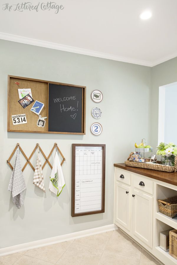 Kitchen Makeover | Comfort Gray Paint | Navajo White Cabinets | Butcher Block Countertop | The Lettered Cottage