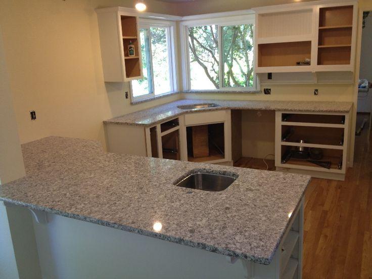 Caesarstone Atlantic Salt 6270 Quartz Countertop Kitchen
