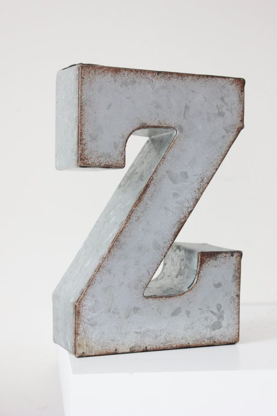 Large Metal Alphabet Letters Unique Best 25 Large Metal Letters Ideas On Pinterest  Metal Letters Decorating Inspiration
