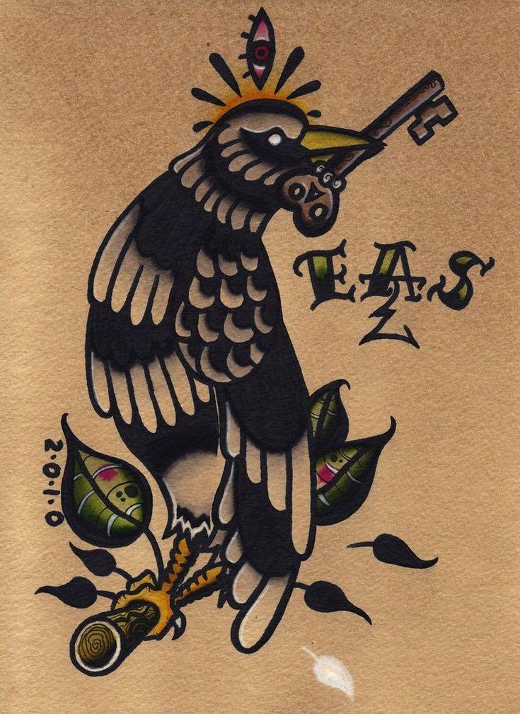 traditional tattoo black - Google Search