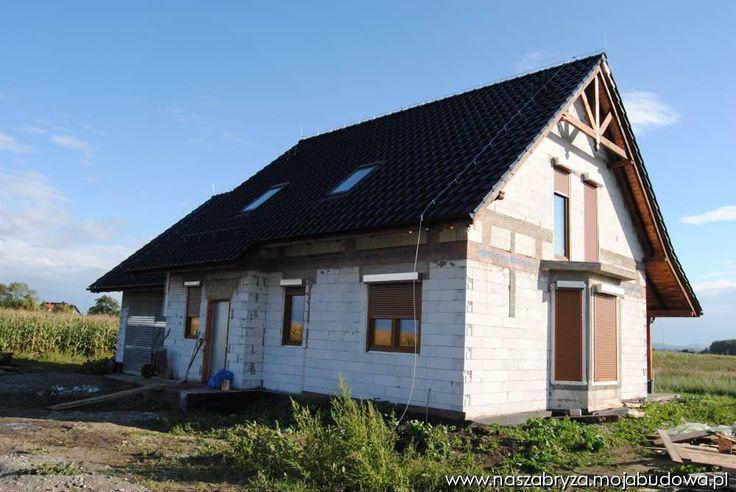Stan surowy otwarty  #budowa #dom #projekt