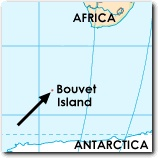 Bouvet Island... Most remote place on earth