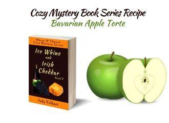 Cozy Mystery Book Series Recipe: Bavarian Apple Torte