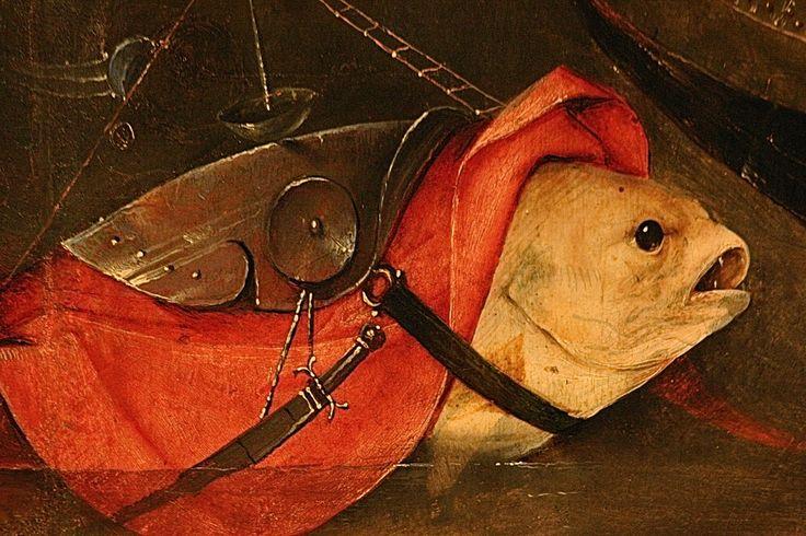 PALEOLIMBUS (El Bosco | Detalles), Detail from the Temptation of St.Anthony, Bosch.
