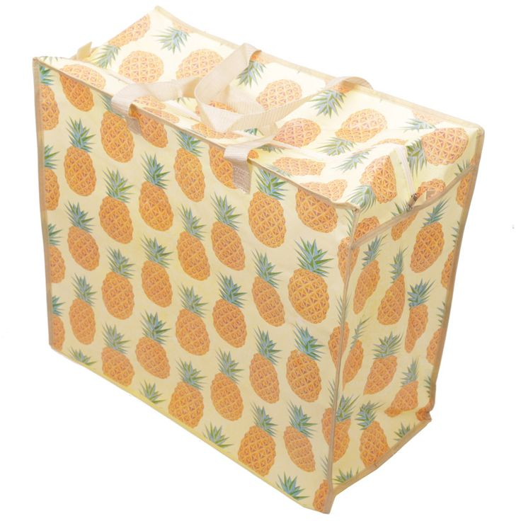 Fun Practical Laundry  and  Storage Bag - Pineapple Design