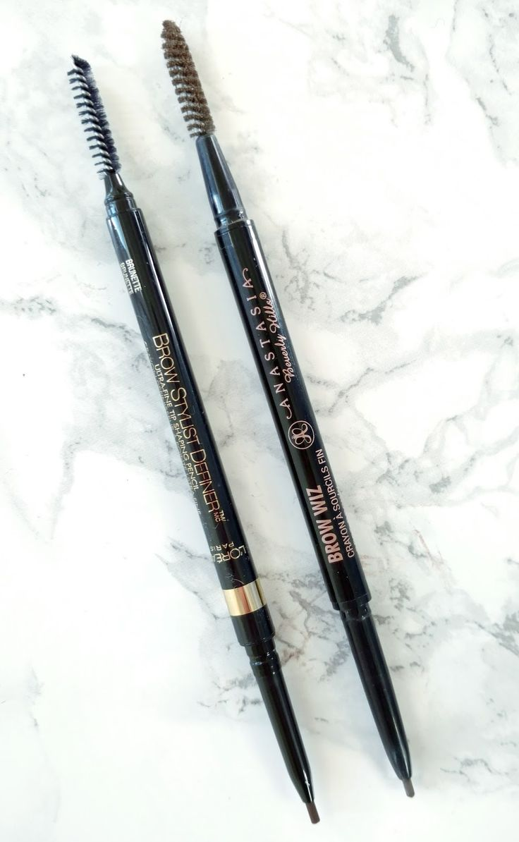 anastasia beverly hills brow wiz dupe - loreal brow stylist definer