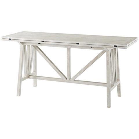 Tillman NoDa Driftwood Console Table - #1R215 | Lamps Plus