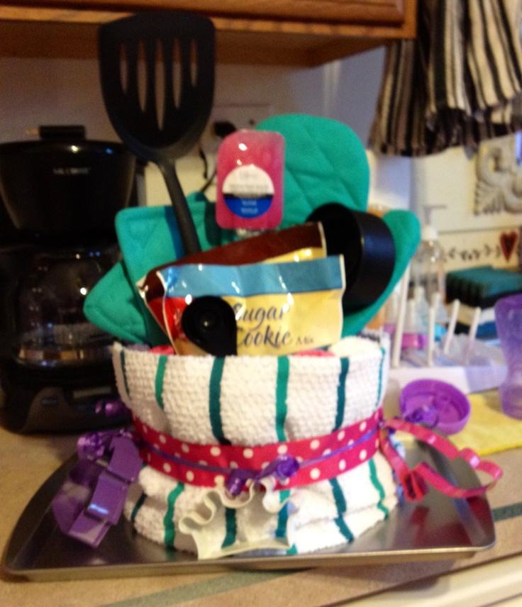 Baking gift cake