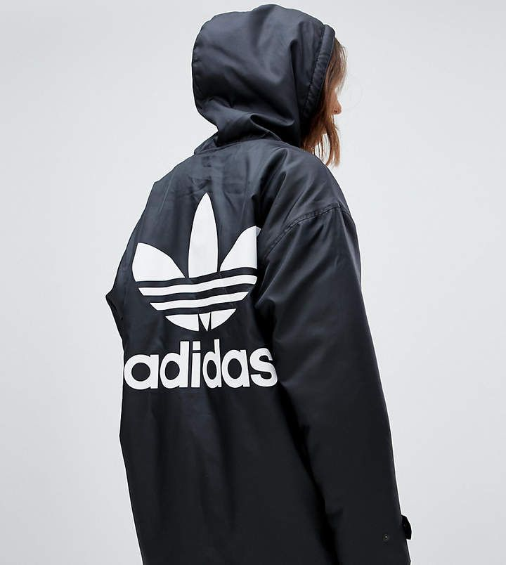 adidas Originals Hooded Coat With Back