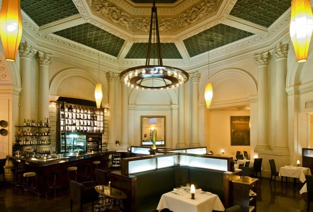 Since 1996 Logan Brown Restaurant has been operating in a beautifully renovated, historically listed old bank #WellyOnaPlate #DINEWellington