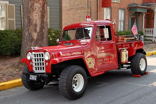 Jeeps For Sale Raleigh Nc >> North Mountain Volunteer Fire Dept - Mt. Falls, VA. - Jeep Fire Truck | Jeep Fire and Brush ...