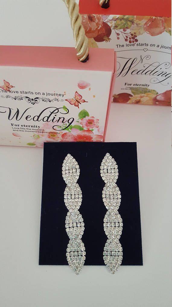 earrings wedding bride