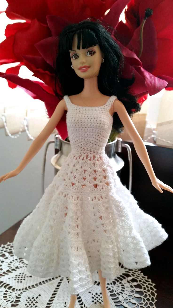 129 besten Barbie Clothes: Crochet & Knitting Bilder auf Pinterest ...