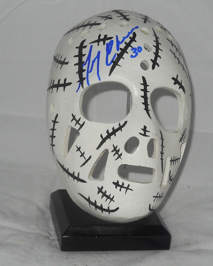 Gerry Cheevers mask...