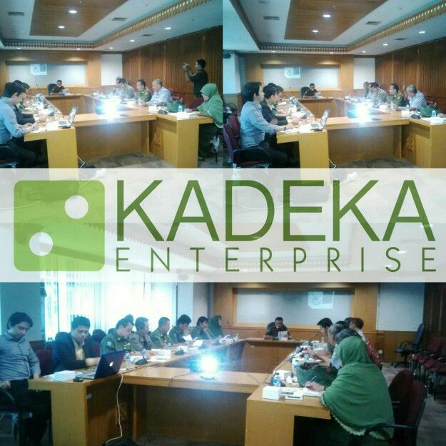 Meeting KADEKA Enterprise bersama Sekretaris Kota Administrasi Jakarta Timur
