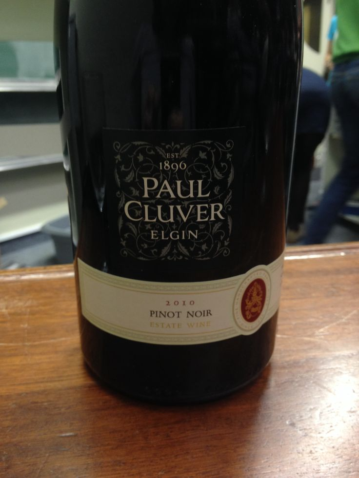 Won this beautiful bottle of Paul Cluver Pinot Noir 2010 at UCT Wine Society last night, 25 April 2010. What a wonderful Friday surprise!