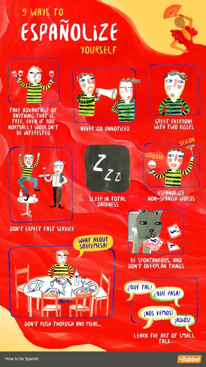 9 Steps To Españolize Yourself - Babbel.com