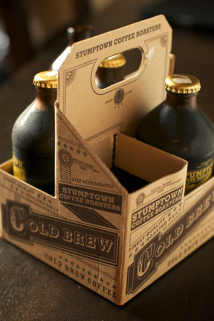 4-pack of Stumptown cold brew coffee