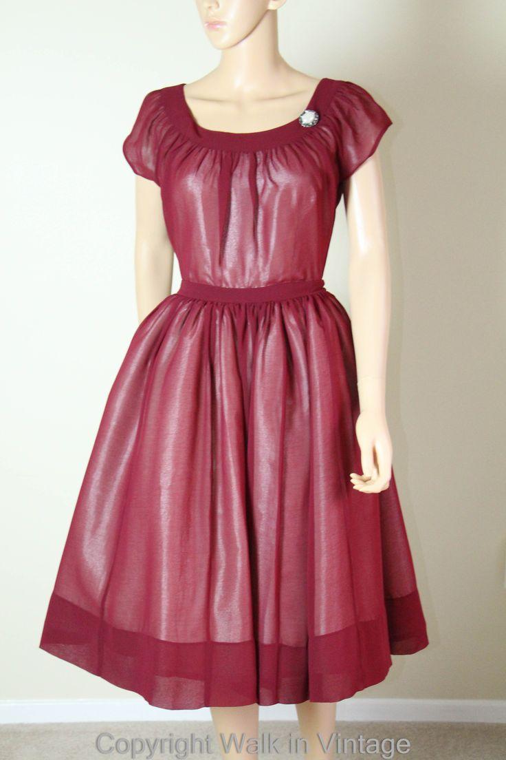 Mejores 57 imágenes de 1950s Dresses and Clothing en Pinterest ...