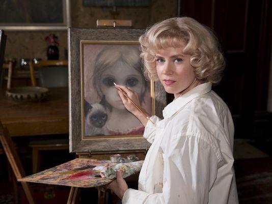 Sneak peek of Amy Adams as artist Margaret Keane in Tim Burton's upcoming movie, 'Big Eyes'. Photo: Leah Gallo, The Weinstein Company, via USA Today: http://www.usatoday.com/story/life/movies/2014/08/03/amy-adams-big-eyes-tim-burton/12967783/