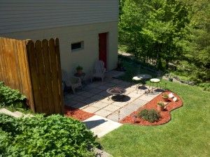 Best MulchLandscape Rock Wood Images On Pinterest - Mulch patio ideas