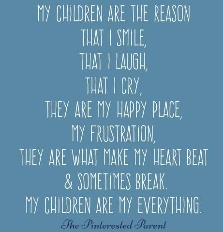 Quote from The Pinterested Parent #parenting #motherhood #children
