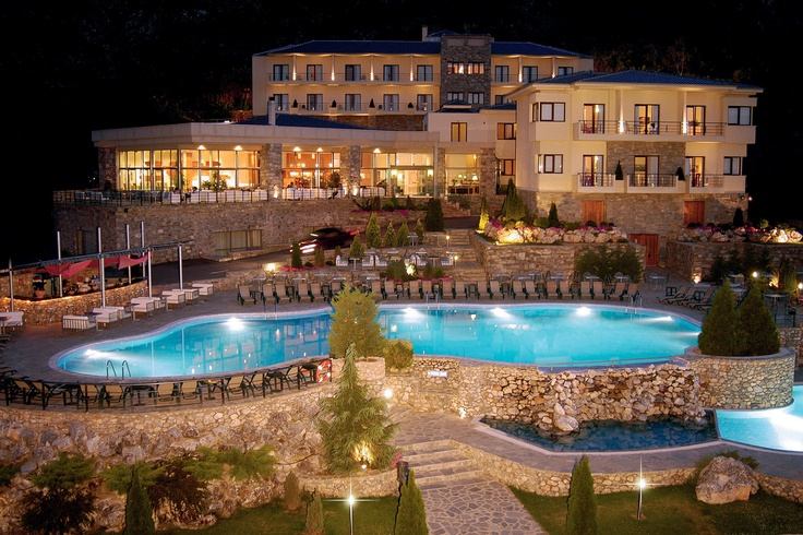 Limneon Resort & Spa at the 4th km of Ethniki Odos, Kastoria-Athens