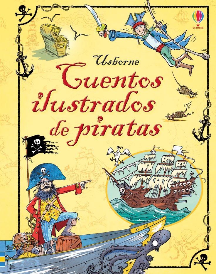 Marineros de agua dulce, atentos a esta magnífica colección de cuentos ilustrados repletos de peligrosas y emocionantes escenas, cañones a punto de estallar, misteriosas cazas del tesoro… ¡y un montón de loros parlanchines!  #libro #libros #infantiles #niños #paraniños #lecturainfantil #literaturainfantil #piratas #cuentos #ilustrados