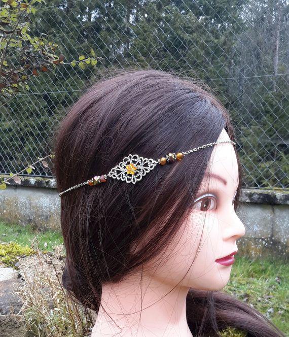 Headband bohème hippie ethnique folk gipsy by ladiejaneclothes