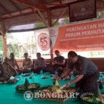 Hut Perum Perhutani Bondowoso, Adi Winarno: Semoga Semakin Jaya