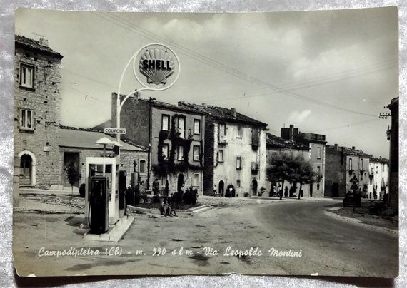 Italy Campodipietra 2 Real Photo Postcards Shell by OakwoodView