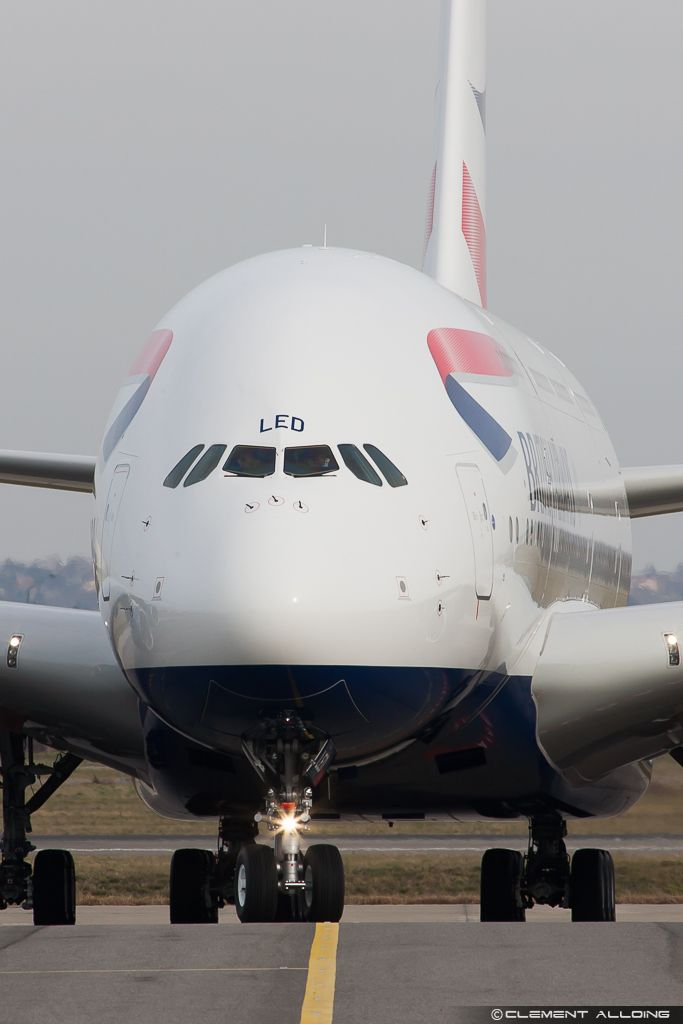 British Airways Airbus A380-841 G-XLED (cn 144).