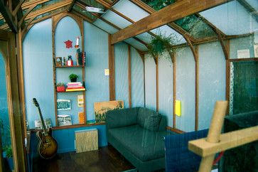 contemporary garage and shed Garden Studio