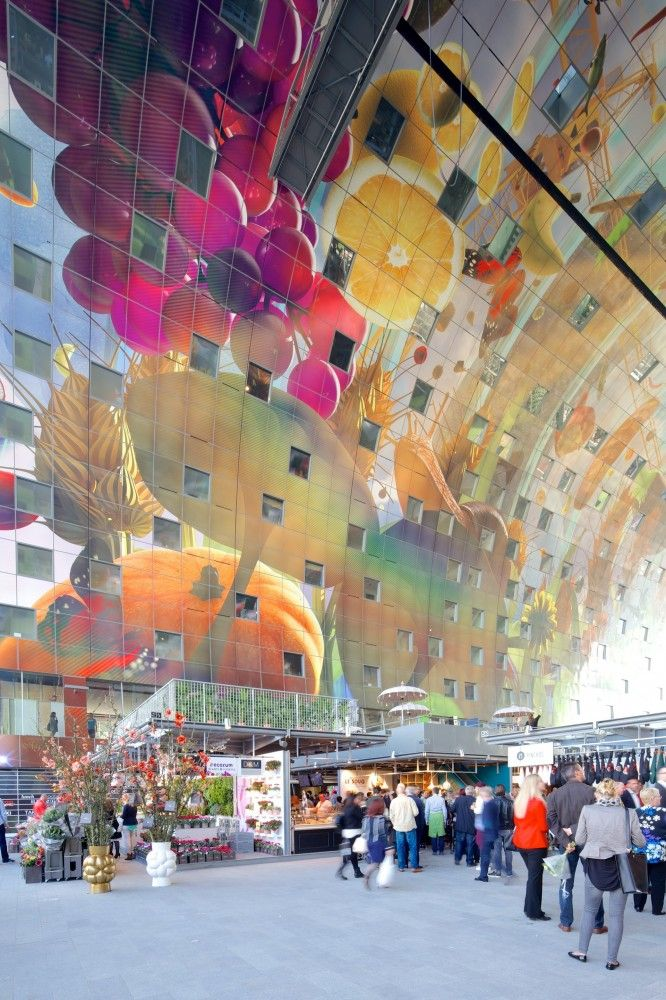 First Look: MVRDV Completes Largest Covered Market in the Netherlands