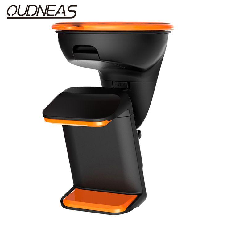 OUDNEAS Schwarz Universal Car Windschutzscheibenhalterung Halter & Steht telefon auto halter für iphone 5 s se 6 s plus samsung s6 auto dvr GPS