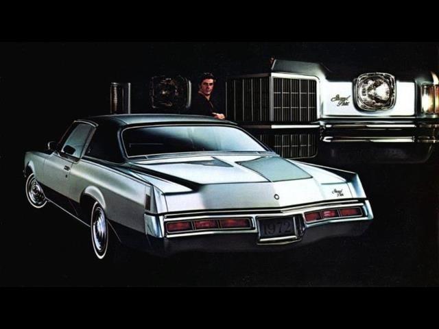 1971 Pontiac Grand Prix Ad